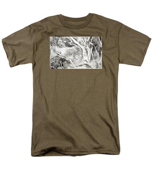 Charcoal Copse Men's T-Shirt  (Regular Fit)