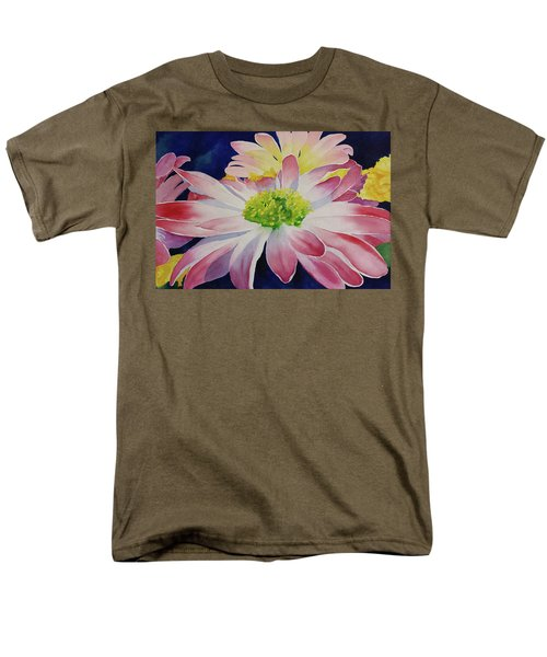 Men's T-Shirt  (Regular Fit) featuring the painting Charisma by Judy Mercer