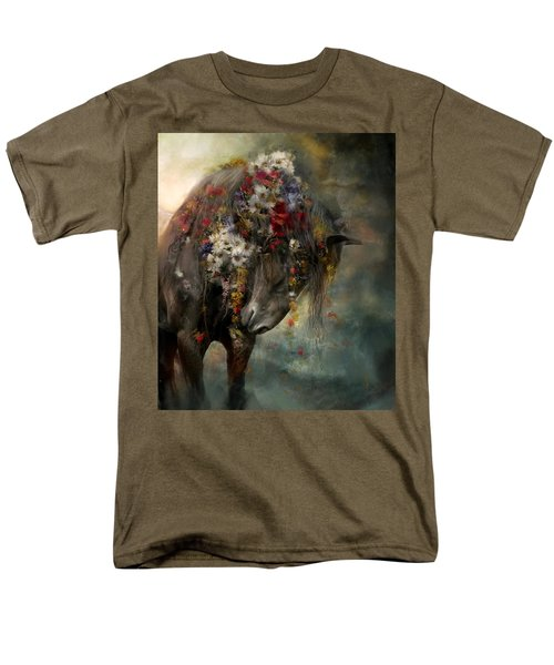 Men's T-Shirt  (Regular Fit) featuring the painting Charmer  by Dorota Kudyba