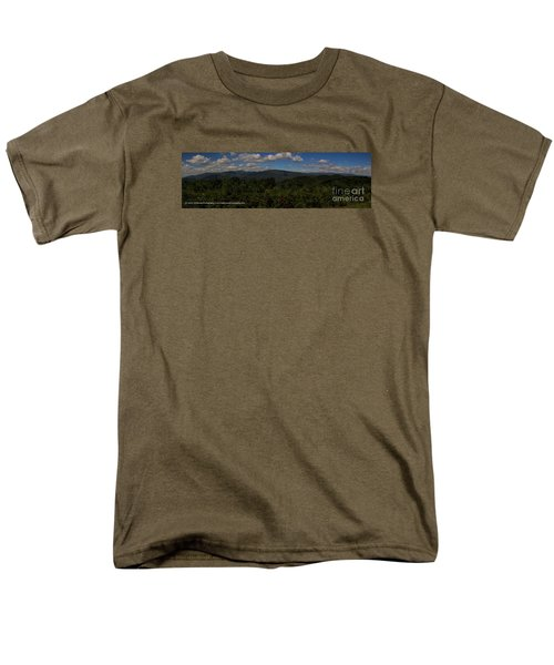 Men's T-Shirt  (Regular Fit) featuring the photograph Chattahoochee Forest Overlook by Barbara Bowen