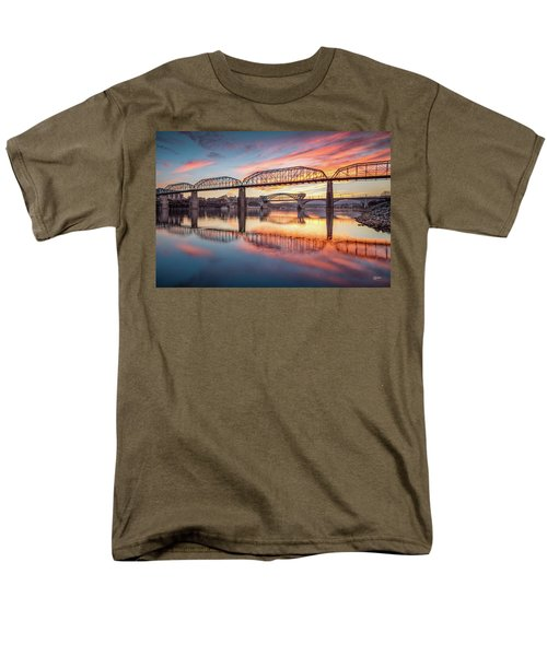 Chattanooga Sunset 5 Men's T-Shirt  (Regular Fit) by Steven Llorca