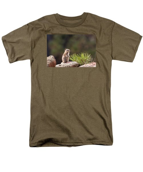 Men's T-Shirt  (Regular Fit) featuring the photograph Checking Things Out by Monte Stevens