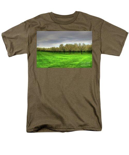 Cherry Trees Forever Men's T-Shirt  (Regular Fit) by Randy Pollard