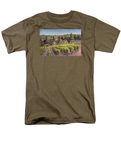 Chianti Vineyard Men's T-Shirt  (Regular Fit)