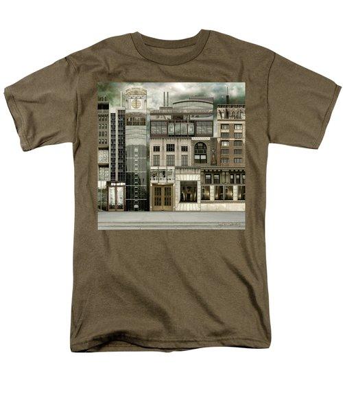 Chicago Reconstruction 2 Men's T-Shirt  (Regular Fit) by Joan Ladendorf