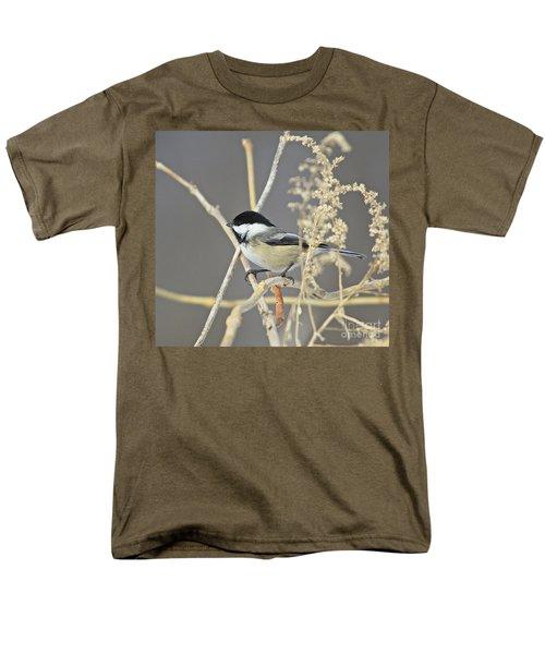 Chickadee-8 Men's T-Shirt  (Regular Fit) by Robert Pearson