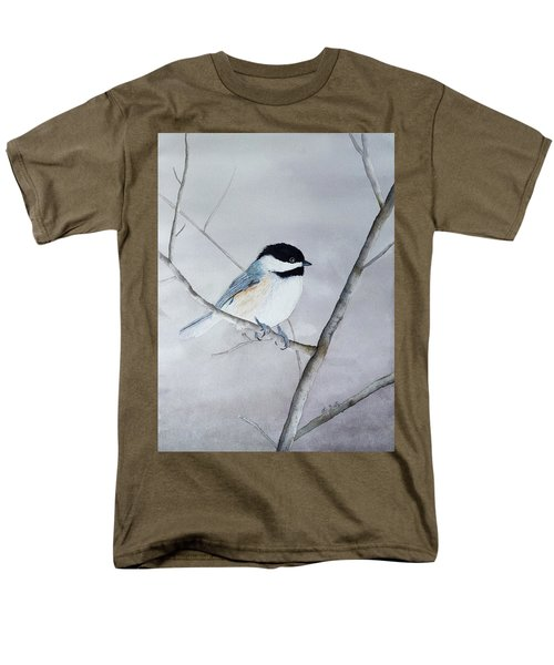 Chickadee II Men's T-Shirt  (Regular Fit) by Laurel Best
