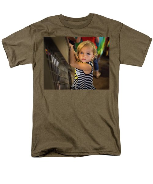 Men's T-Shirt  (Regular Fit) featuring the photograph Child In The Light by Bill Pevlor