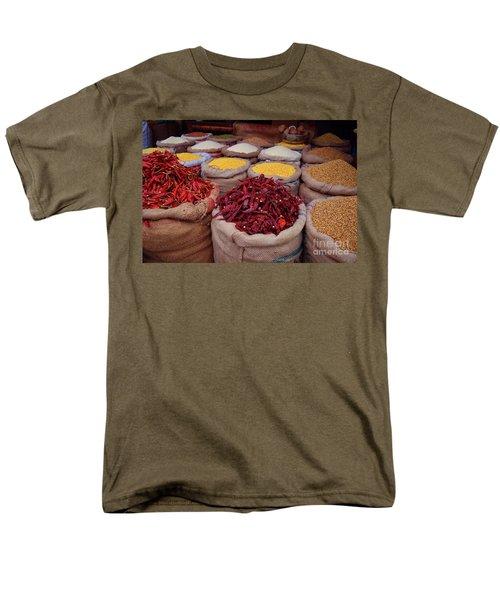Chilliy Peppers Men's T-Shirt  (Regular Fit) by Mini Arora