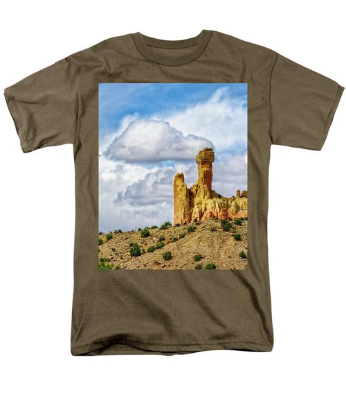 Chimney Rock  Men's T-Shirt  (Regular Fit) by Robert FERD Frank