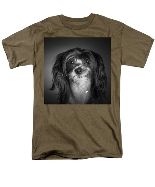 Men's T-Shirt  (Regular Fit) featuring the photograph Chinese Crested - 02 by Larry Carr