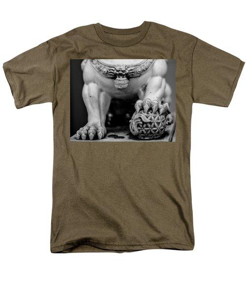 Chinese Guardian Lions Shishi Men's T-Shirt  (Regular Fit) by Silvia Bruno