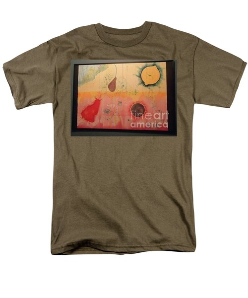 Men's T-Shirt  (Regular Fit) featuring the painting Choking by Xn Tyler