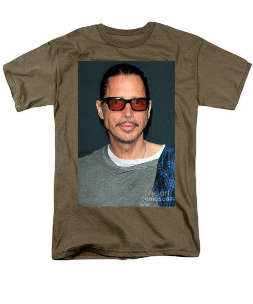 Chris Cornell Men's T-Shirt  (Regular Fit) by Nina Prommer