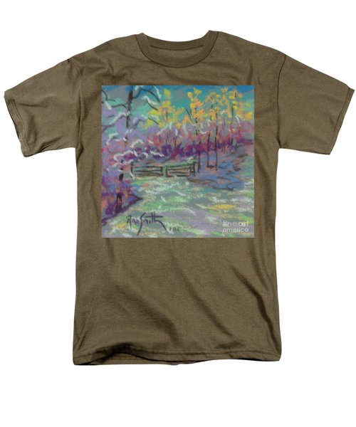Christmas Day Sketch Men's T-Shirt  (Regular Fit) by Rae  Smith PAC