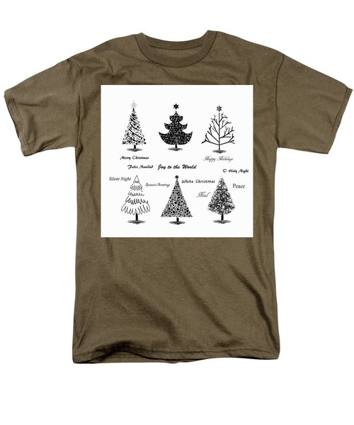 Men's T-Shirt  (Regular Fit) featuring the photograph Christmas Illustration by Stephanie Frey