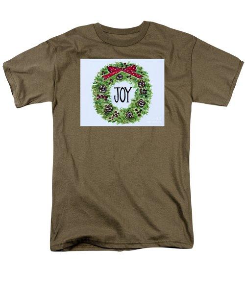 Christmas Joy Men's T-Shirt  (Regular Fit) by Elizabeth Robinette Tyndall