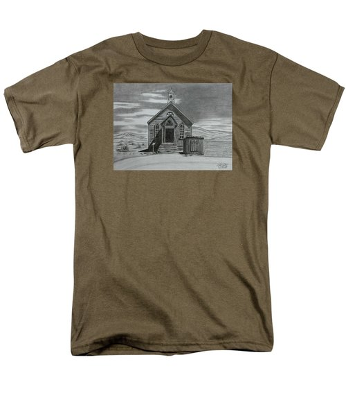 Church  At Bodie  Men's T-Shirt  (Regular Fit)