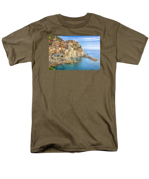 Men's T-Shirt  (Regular Fit) featuring the photograph Cinque Terre by Brent Durken