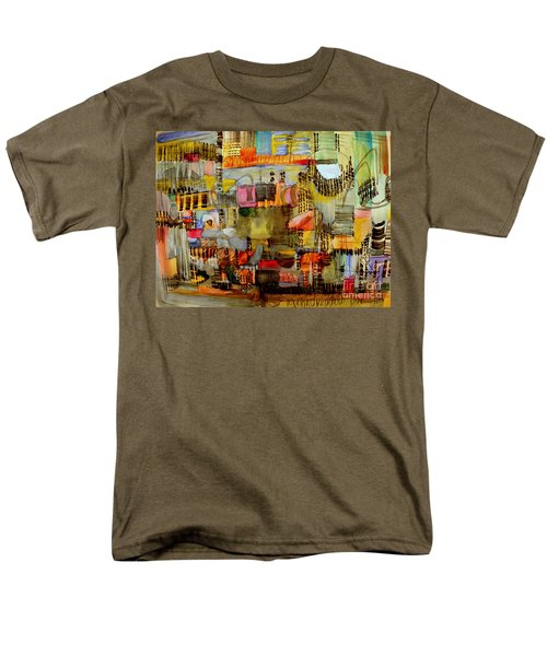 City Life  Men's T-Shirt  (Regular Fit) by Nancy Kane Chapman