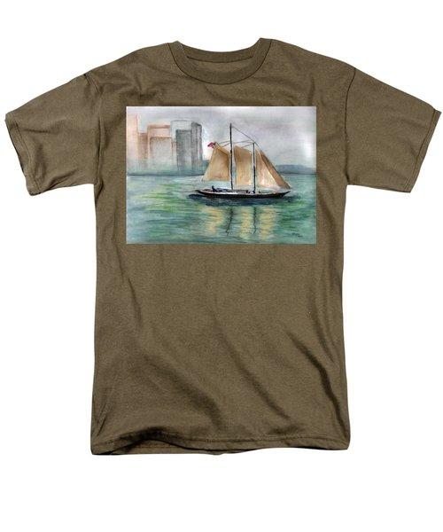 City Sail Men's T-Shirt  (Regular Fit)