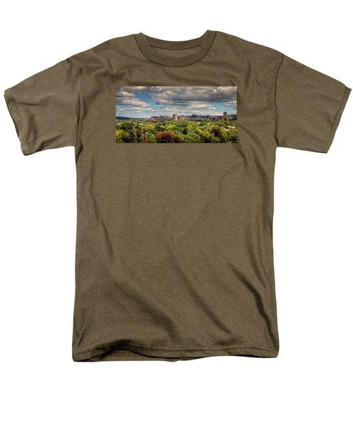 City Skyline Men's T-Shirt  (Regular Fit) by Everet Regal