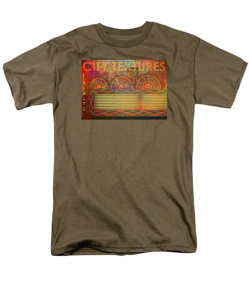 City Textures Theater Men's T-Shirt  (Regular Fit) by John Fish