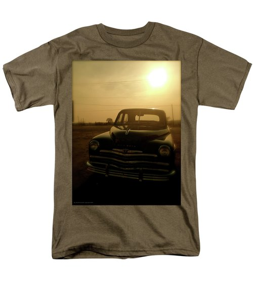 Men's T-Shirt  (Regular Fit) featuring the photograph Classic America, Eight by Iconic Images Art Gallery David Pucciarelli