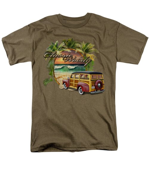 Classic Woody Men's T-Shirt  (Regular Fit) by Rob Corsetti