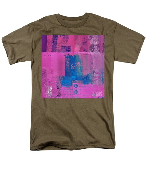 Men's T-Shirt  (Regular Fit) featuring the digital art Classico - S0307d by Variance Collections