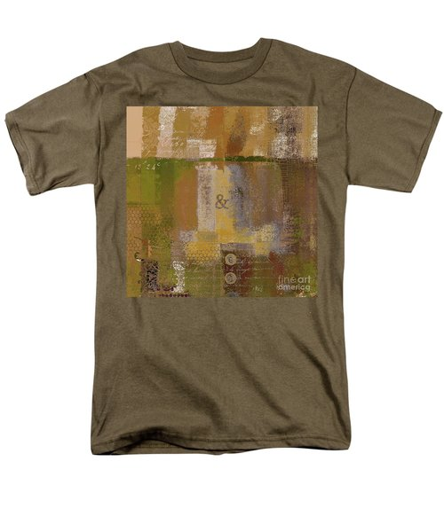 Men's T-Shirt  (Regular Fit) featuring the digital art Classico - S0309b by Variance Collections