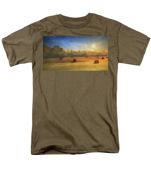 Men's T-Shirt  (Regular Fit) featuring the photograph Clayton Morning Mist by Lori Deiter
