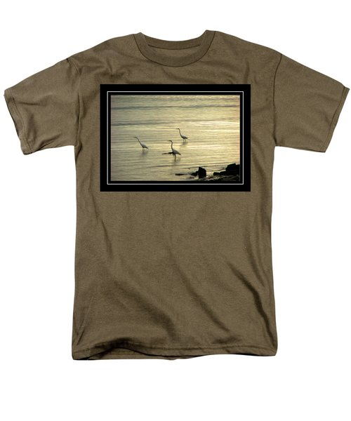 Clearwater Beach Men's T-Shirt  (Regular Fit) by Carolyn Marshall