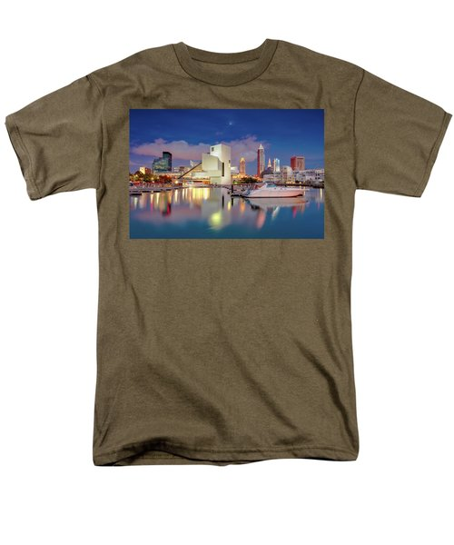 Men's T-Shirt  (Regular Fit) featuring the photograph Cleveland Ohio 2  by Emmanuel Panagiotakis