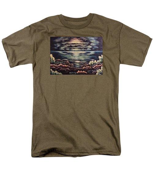 Cliffside Men's T-Shirt  (Regular Fit) by Cheryl Pettigrew