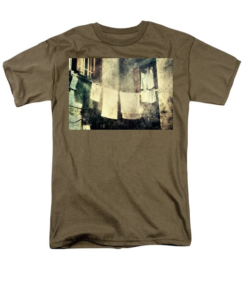 Clothes Hanging Men's T-Shirt  (Regular Fit) by Vittorio Chiampan