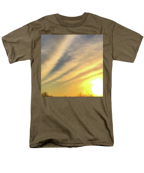 Clouds And Sun Men's T-Shirt  (Regular Fit) by Sumoflam Photography