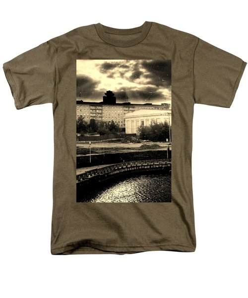 Clouds Over Minsk Men's T-Shirt  (Regular Fit) by Vadim Levin