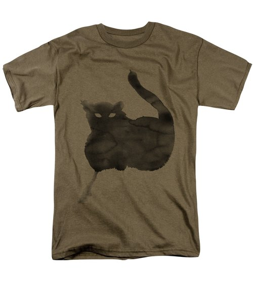Cloudy Cat Men's T-Shirt  (Regular Fit) by Marc Philippe Joly