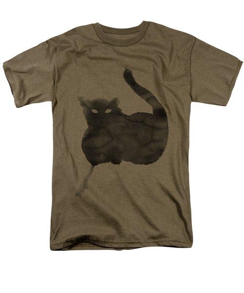 Cloudy Cat Men's T-Shirt  (Regular Fit)