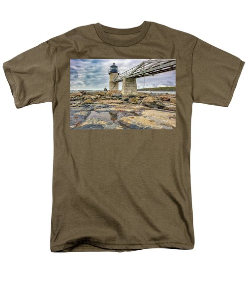 Men's T-Shirt  (Regular Fit) featuring the photograph Cloudy Day At Marshall Point by Rick Berk