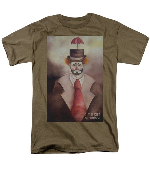 Men's T-Shirt  (Regular Fit) featuring the painting Clown by Marlene Book