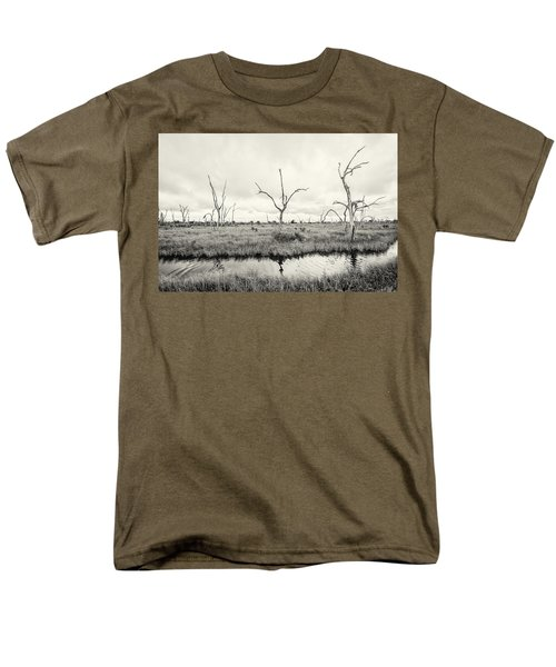 Men's T-Shirt  (Regular Fit) featuring the photograph Coastal Skeletons by Andy Crawford