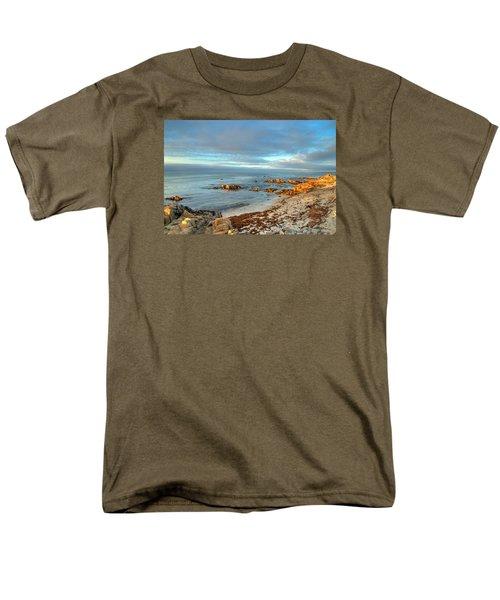Coastal Sunset Men's T-Shirt  (Regular Fit) by Derek Dean