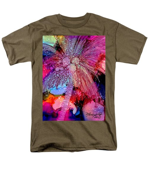 Coconut Palm Tree 4 Men's T-Shirt  (Regular Fit) by Marionette Taboniar