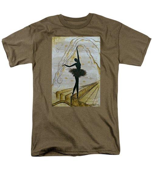 Coffee Ballerina Men's T-Shirt  (Regular Fit) by AmaS Art