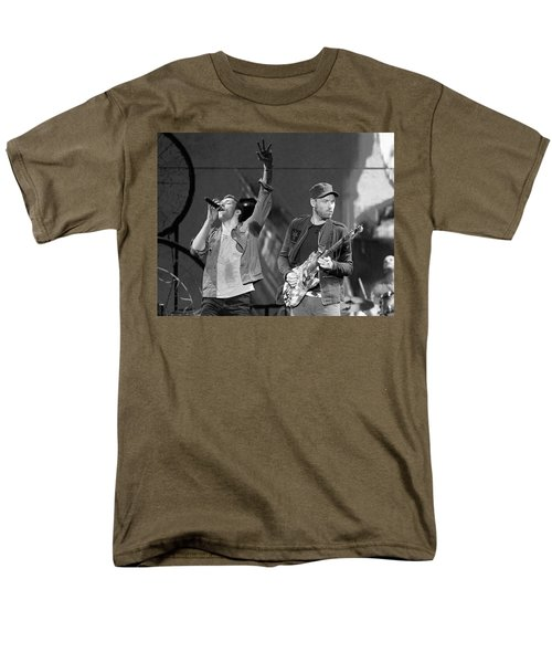 Coldplay 14 Men's T-Shirt  (Regular Fit) by Rafa Rivas