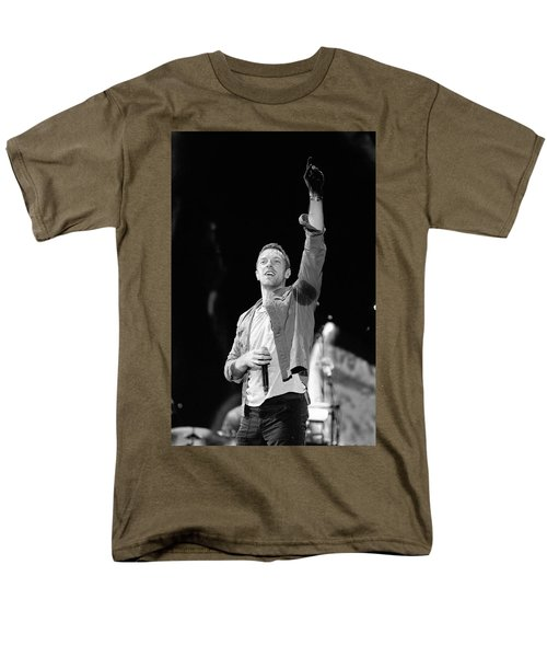 Coldplay 16 Men's T-Shirt  (Regular Fit) by Rafa Rivas