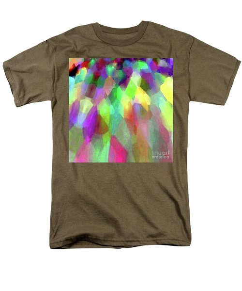 Color Abstract Men's T-Shirt  (Regular Fit) by Wernher Krutein