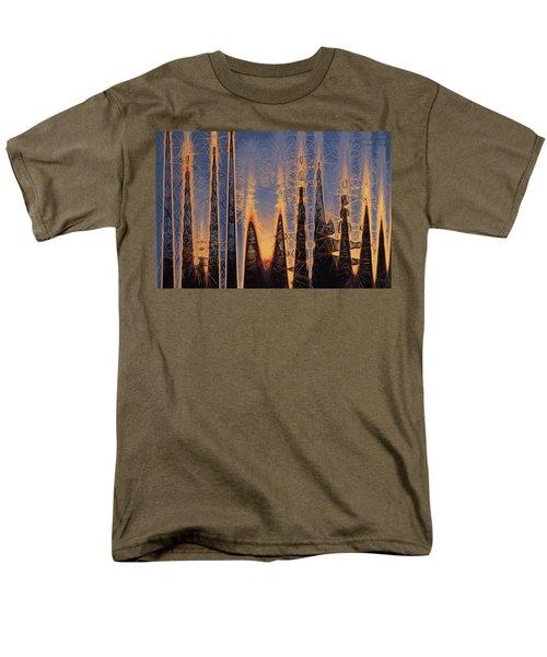 Color Abstraction Xl Men's T-Shirt  (Regular Fit)